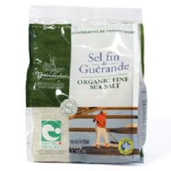 サンエイト貿易 |  ゲランドの海水塩 セル・ファン (細塩) / 500g×12