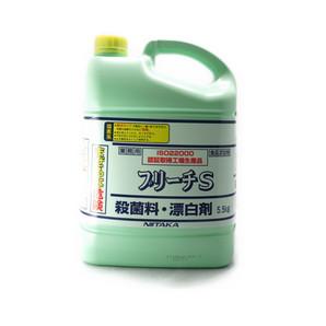 ニイタカ | 業務用 ブリーチS【殺菌料・漂白剤】 / 5.5kg