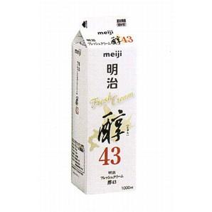 明治 | フレッシュクリーム醇43 / 1L