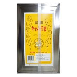 昭和産業 | キャノーラ油 / 16.5kg
