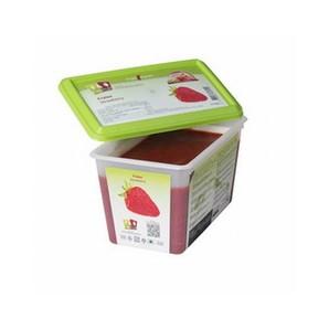 capfruit (キャップフリュイ)   フレーズ(センガセンガナ)ピューレ 加糖10% / 1kgトレー