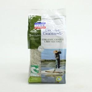 サンエイト貿易 | ゲランドの海水塩 グロ・セル(粗塩) / 1kg×12