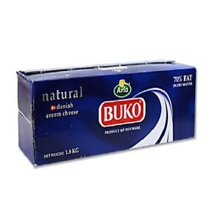 デンマーク産 ナチュラルクリームチーズ  BUKO / 1.8kg