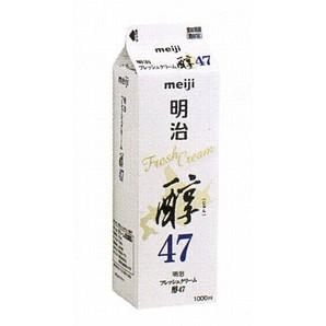 明治 | フレッシュクリーム醇47 / 1L