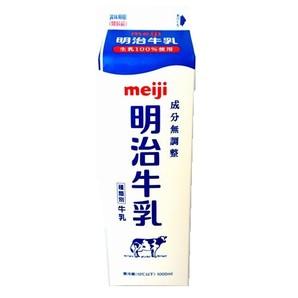 明治 | 無調整牛乳 / 1L