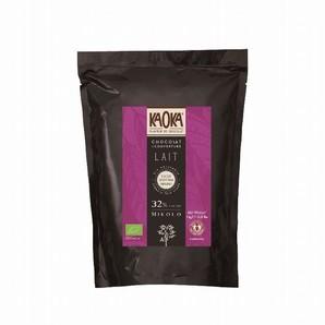 KAOKA(カオカ) | ミコロ32% オーガニックチョコレート / 1kg