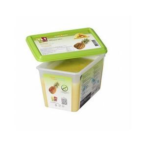 capfruit (キャップフリュイ)   パイナップル(アナナ) ピューレ / 1kgトレー